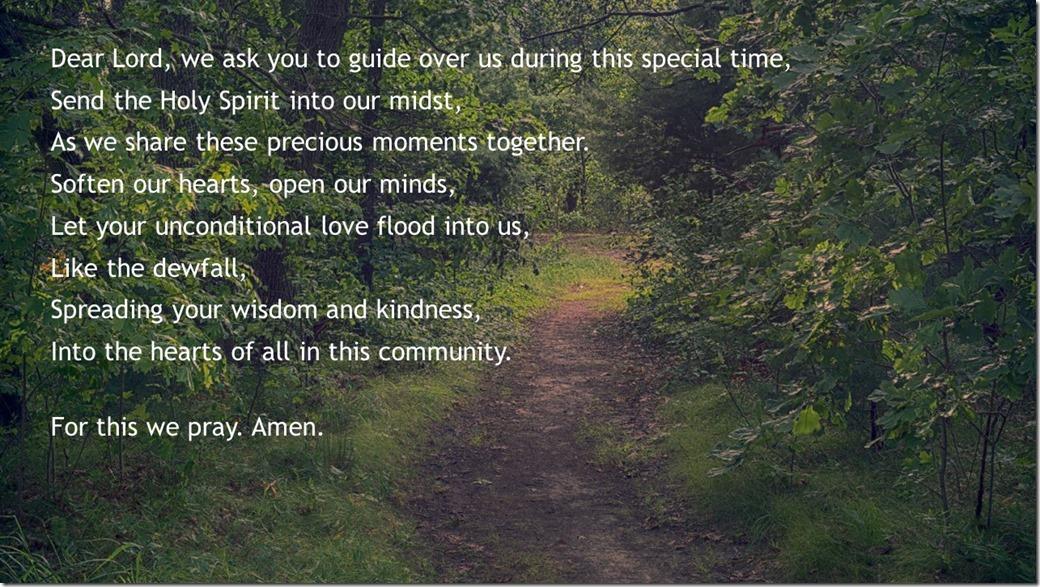 A Small Community Prayer