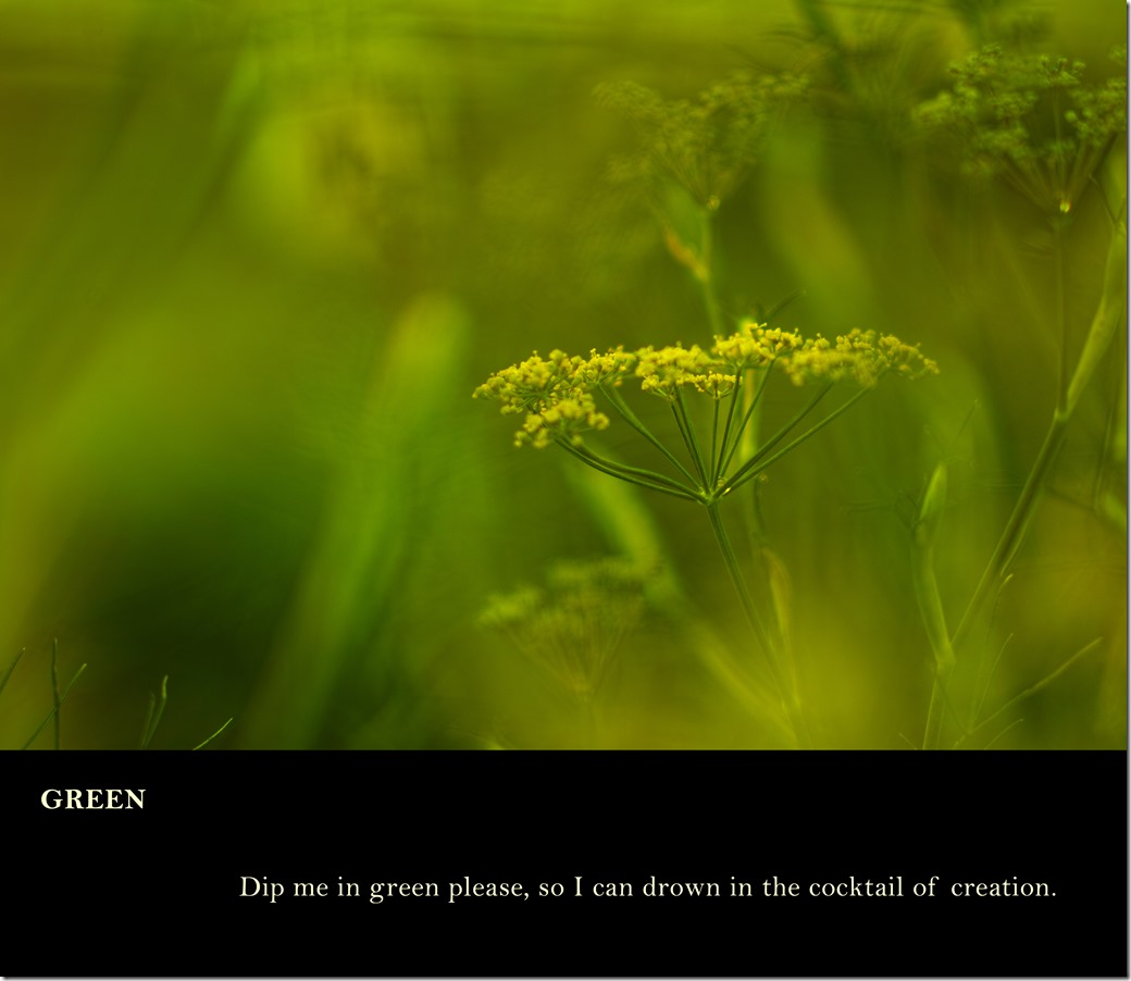 Green poem