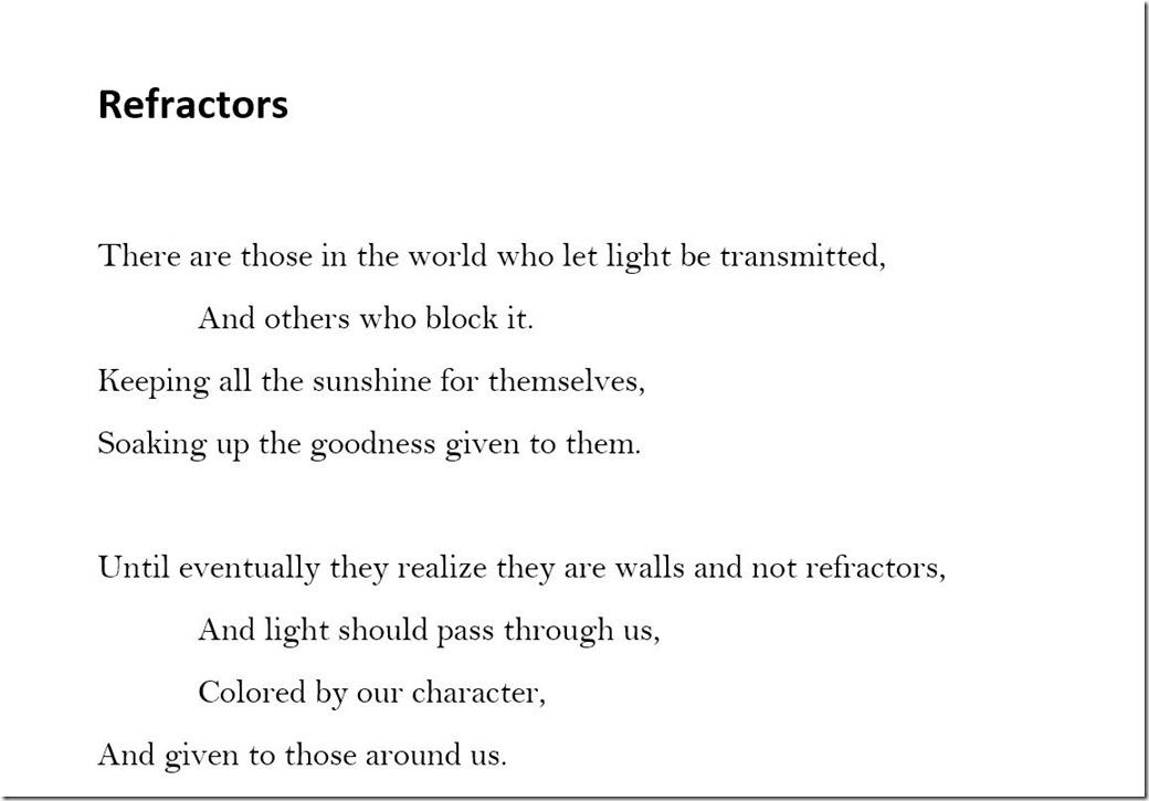 Refractors